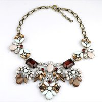 clothing chain - Luxury Brand Big Bib Choker Chunky Statement Set Auger Exaggerated Alloy Clavicle Necklaces Chain Clothing Accessories Colors Jewelry