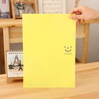 Wholesale A4 Plastic Stud Document Wallets Folders Filing Paper Storage Ticket Holder