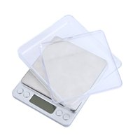 Wholesale High Accuracy Electronic Digital Platform Jewelry Scales Weighing Balance Two Trays Portable g g Counting Function
