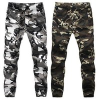 big man pants - HOT Dnine autumn army fashion hanging crotch jogger pants patchwork harem pants men crotch big Camouflage pants trousers