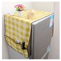 Wholesale High Quality Dual Use Refrigerator Fridge Dust Cover Boot with Six Storage Bags Fine Workmanship