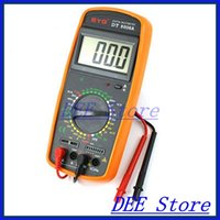 amp capacitors - AC DC Volt Amp Ohm hFE Temp Freq Diode Capacitor Test Analogue Multimeter w Lead