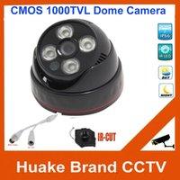 Precio de Sistema de seguridad de la bóveda del ccd-Cubierta matriz CCD 1000TVL 960H HD CMOS LED CCTV Gran Angular Dome Seguridad Video Vigilancia Sistema de cámara IR CUT Día visión nocturna