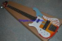 left handed bass guitar - HOT sale strings bass guitar left handed colorful China electric bass guitars
