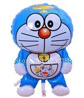 Wholesale 105cm big Doraemon foil Balloon Children Birthday party decoration kids toys Cartoon large Balloons anime classic toy