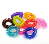 Wholesale Fashion Jewelry Hair Jewelry Mixed Elastic Resin Hair Ties Band Rope Ponytail Holders cm quot Dia B21011