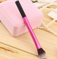 Wholesale New Arrivals Professional Eyeshadow Power Brush Contour Highlight Brushes Comestic Makeup Tools Synthetic Hair IA33