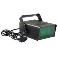 Wholesale SZMYLED Mini LED Stage Light LEDs V V W Par Lamp Disco Storbe Light LED Party Lights White Blue Green Dimmer Lighting