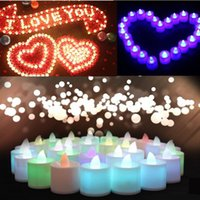 LED Candle beeswax tealight candles - New Flameless Tea Light Wedding Party Flickering Flicker LED Candle Tealight