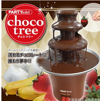 Wholesale Chocolate Fountains Supply chocolate machine Chocolate mixer Chocolate falls Chocolate pot Kitchen Appliances