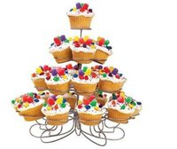 Wholesale 2015 New Diy Tier Cupcake Stands Hold Cupcakes Great for Party Centerpiece Christmas Tree Style x Layers X Center Rods x Wrench