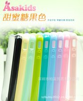Wholesale iphone4 transparent acrylic matte Apple S phone shell protective cover protective shell mobile phone accessories