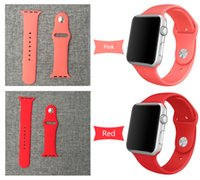 bags watch straps - 42 mm OPP Bags Fashion Watch Strap For Apple Watch Sport Version mm Band For Iwatch Strap with Adapter Connecto