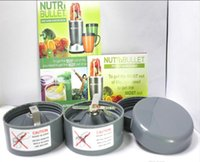 Wholesale Nutri Bullet NutriBullet Kitchen Appliance W Blender Mixer Extractor Blender Juicer AU US EU UK plug Via DHL