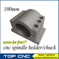 Wholesale 100MM cnc spindle bracket seat KW water cool spindle use