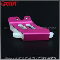 Wholesale 420 chain Aluminum CHAIN Guard Guide protect for dirt bike pit bike spare parts