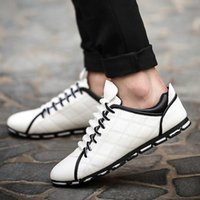 Wholesale shoes men Spring and autumn breathable men s business casual driving shoes lazy shoes mens shoes casual