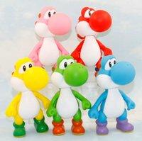 Wholesale Super Mario Bros Dinosaur Yoshi PVC Figure Doll cm Dinosaur Yoshi PVC Toys