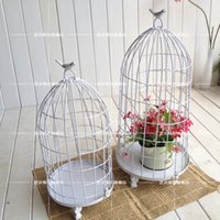 american window factory - Factory direct American Iron Birdcage window white vintage ornaments wedding decorations props Candle