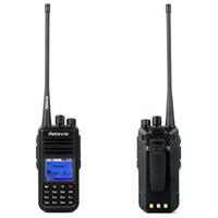 Red / Pink analog digital radio - Retevis RT3 DMR Walkie Talkie VHF MHz W Channels Digital Analog Digital Radio VOX Alarm Two Way Radio A9110AV