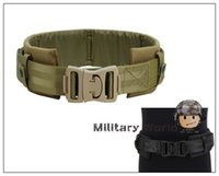 Wholesale Airsoft Hunting Outdoor Sports Gear Safety Waist Support Military Tactical Nylon Belt Molle Cummerbunds Waist Protection Pad order lt no tra
