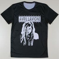avril lavigne music - w20151222 Popular Music Star Avril Lavigne Printed T shirts Men Summer New Casual Short Tees High Quality T Shirts Tshirts