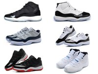 Wholesale bred Legend blue s concords retro cheap basketball shoes sneakers gamma XI men black Outdoor sports shoes all sizes