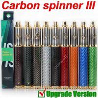 ego variable voltage battery - New Vision Spinner vision Carbon spinner III Carbon Fiber V mAh ego Variable Voltage battery fit ego atomizers vs Tesla spider