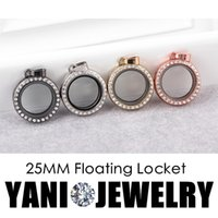 Cheap Round Floating Locket Pendant Best Magnetic Glass locket