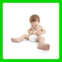 Wholesale 5pcs Baby super absorbency Absorbent Breathable Of washable Nanofibers Nappies Diapers