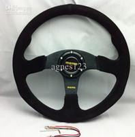 Wholesale MOMO Racing Steering Wheel Suede Leather and Retail
