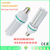 Wholesale Led bulb light U U U W W W W W W w W w LED corn light AC85 V E27 lamp for Home