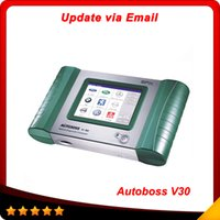 auto email - 2015 Professional Autoboss V30 Email Update Auto diagnostic tool High quality Autoboss scanner super scanner DHL