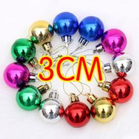 Wholesale 2014 Christmas tree ornaments Electroplating ball plastic Christmas ball cm Christmas ball of light Wedding Decorations