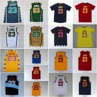 lebron james jersey - LeBron James Jersey LeBron James Throwback Basketball Jersey Embroidered Irish High School Jersey