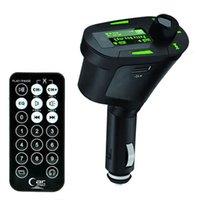 acura lx - High Quality Arrival Hot Sale Green Kit Car MP3 Player Wireless FM Transmitter Modulator USB SD MMC LCD Remote LX QP0026 free shippin