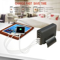 ac power packs - Multi USB Ports Fast Chargers US UK EU AU Plug AC Power Adapter For iPhone Ipad Samsung Home Or Travel Quick Packing Charger