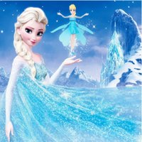 b activity - The new high end frozen led flying toy helicopters boneca infrared induction Princess Anna and Elsa Barbie Christmas party activities b