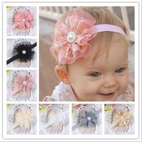 Cheap Childrens Accessories Hair Lace Flowers Fashion Girls Headbands Baby Hair Accessories Girl Hair Clips Children Hair Accessories Kids