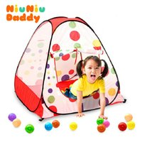 Cheap Kids Tent Toy Indoor&Outdoor Pop Up House Kids Play Game Tent Toy multi-function tent child independent room