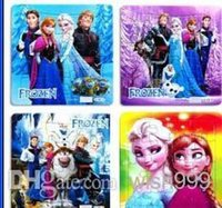 Wholesale 400 Frozen Princess Elsa Anna Puzzle Children s educational toys Gift