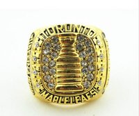 Wholesale Toronto Maple Leaf Tim Horton Championship Champions Ring size G