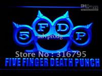 bar finger - c221 b FDP Five Finger Death Punch Neon Light Sign