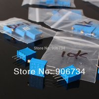 Wholesale 60pcs value W Potentiometer Assorted Kit Variable Resistor ohm