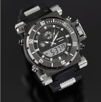 Sport aviator size - INFANTRY Aviator Men s King Size Chronograph Quartz Wrist Watch Backlight White Dial Black Rubber NEW Fashion