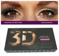 moisturizer - 12sets Moodstruck D Fiber Lashes YNQ mascara Black color High quality mascaras set DHL