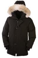 beige denim jacket - 2016 Men Chateau down parka with raccoon fur men down coats sale snow Parka down jackets winter warm down jackets