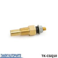 Wholesale Tansky quot NPT Sensor Water Oil Temp Sender Temperature Sender For Water Oil Temp Gauge TK CGQ10