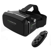 Wholesale HD D Mobile glasses vr d glasses VR Shinecon d vr glasses box high quality d vr headset for google glasses d movies