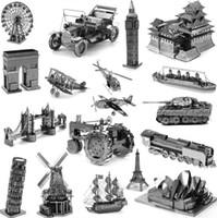 al por mayor adult toy-Modelos a Escala Pretty Baby Star Wars Modelo 3D DIY kits de construcción metálico Nano Puzzle Juguetes rompecabezas 3d edificio para los niños adultos regalos de Navidad